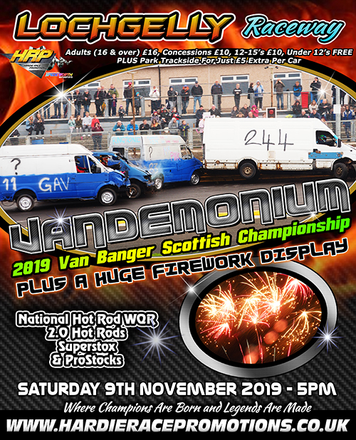 The 2019 Season ends in spectacular style with our Van Banger Scottish Championship on offer!<br />