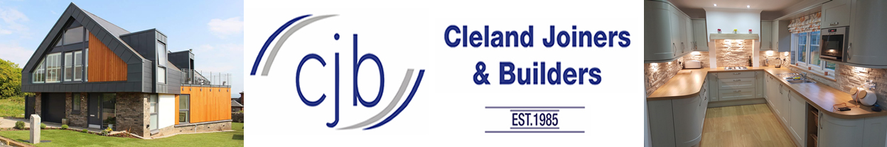 Cleland Builders and Joiners Ltd Cleland Joiners & Builders have a wealth of experience established in 1985. We have built a strong reputation in all aspects of design and build.<br><br>Your investment is secure with Cleland Joiners & Builders. We have over 30 years experience in the design and manufacture of your proposals using the very latest computer-based technology.