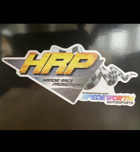 HRP Fridge Magnet. 125mm in width, this is perfect for your fridge or min fridge!